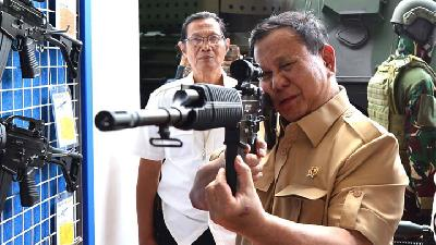 Prabowo: Indonesia's Armament Budget the Lowest in Southeast Asia