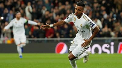 Menanti Debut Bintang Muda Real Madrid Rodrygo Goes di Tim Brasil