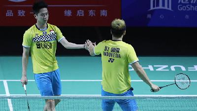 Komentar Kevin / Marcus Gagal ke Final BWF World Tour Finals 2019