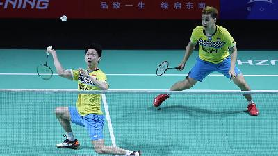 Kevin / Marcus Gagal ke Final BWF World Tour Finals 2019