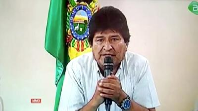 Bolivia's Evo Morales Resigns as President