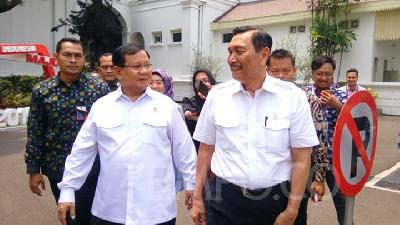 Luhut Pandjaitan, Prabowo Discuss Abu Dhabi Investment Plans
