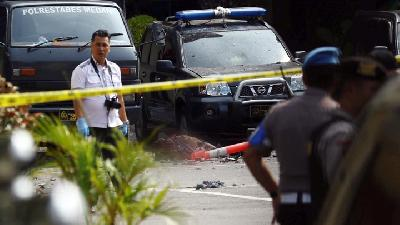 Six Injured in Medan Suicide Bombing