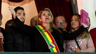 Jeanine Anez Declares Herself as Interim President of Bolivia