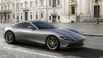 All-New Ferrari Roma Dirilis, Mesin Buas Bertenaga 612 HP