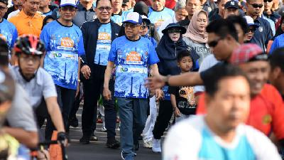 Interfaith Walk should be Organized Routinely: VP Ma'ruf Amin