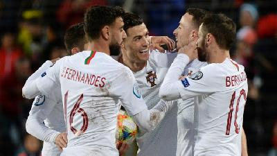 Ronaldo Moves Onto 99 as Portugal Qualify for Euro 2020