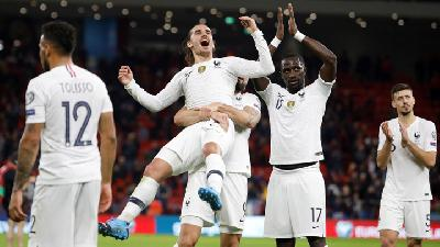 France Qualify for Euro 2020 after Win in Albania's New Stadium