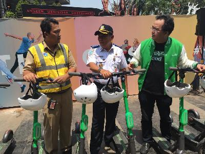 GrabWheels Incident; Jakarta, Grab Set to Build Special Lanes