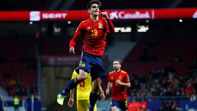 Spain Thrash Romania in Final Euro 2020 Qualifier
