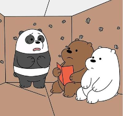 We Bare Bears Meriahkan Natal di Pluit Village