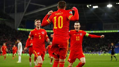 Ramsey Double Sends Wales Through to Euro 2020