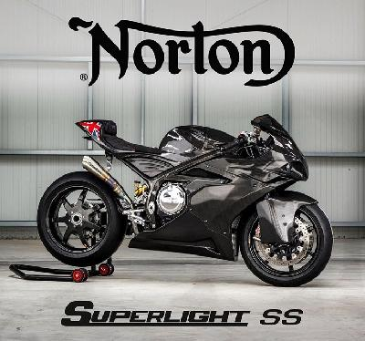 Norton Racik Motor Superlight: Mesin Supercharger, Bodi Karbon
