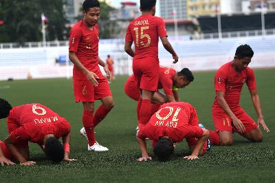 Jadwal Semifinal SEA Games 2019: Timnas U-23 Indonesia Vs Myanmar
