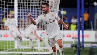 Hasil dan Klasemen Liga Liga Sabtu: Alaves Vs Real Madrid 1-2