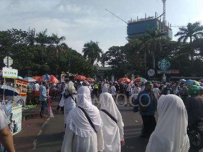 Rizieq Shihab Recalls Ahok's Case in 212 Reunion Rally