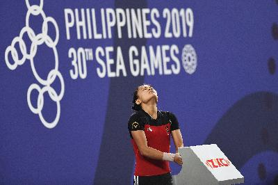 Klasemen Medali SEA Games 2019: Windy Raih Emas, Indonesia Ke-5