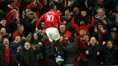Rashford Double As Manchester United Spoil Mourinho's Return