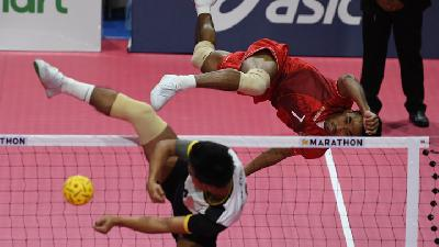 Indonesia Sepak Takraw Team Clinches Gold in SEA Games 2019