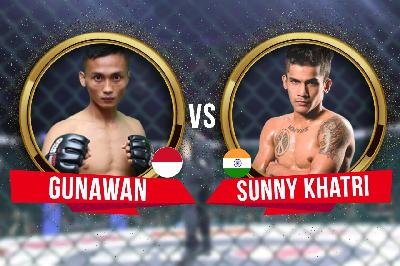 One Pride MMA, Akhir Pekan Ini: Duel Petarung Indonesia vs India