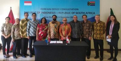 South Africa Lends Support for Creation of Indonesia-SACU PTA