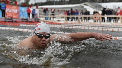 Winter Swimming Tyumen Open Cup 2019 at Russia