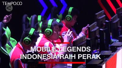 Tim Esports Mobile Legends Indonesia Raih Perak SEA Games 2019