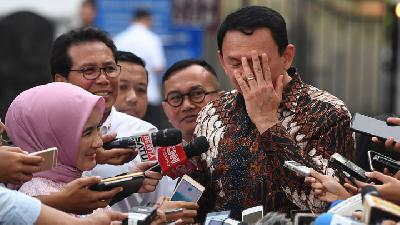 Jakarta Flooding: Ahok Says Anies Baswedan Knows More