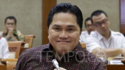 SOE Minister Erick Thohir: I Am Extremely Powerful