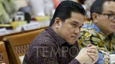 Erick Thohir Shocked by SOE Directors Having Double Job