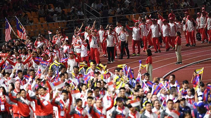 Kemeriahan Penutupan SEA Games 2019