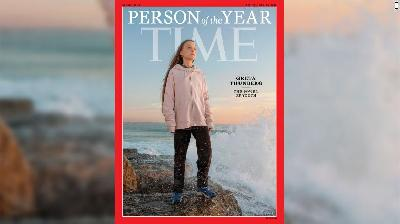 Majalah TIME Nobatkan Greta Thunberg Person of the Year