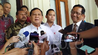 Maintaining Defense Partnership, Minister Prabowo Heads to China
