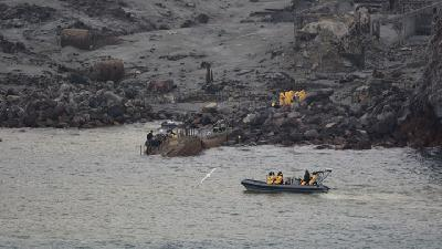Six Bodies Retrieved From New Zealand Volcanic Island