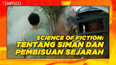 Film The Science of Fiction: Tentang Siman dan Pembisuan Sejarah