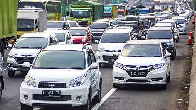Eid al-Adha Holiday; Jasa Marga Records 345,000 Vehicles Left Jakarta