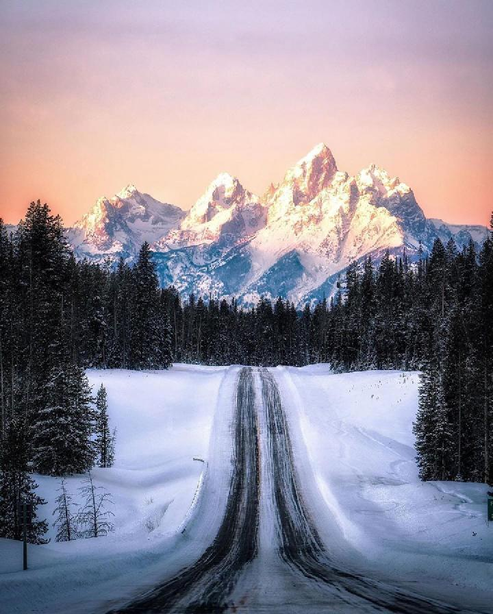 Taman Nasional Grand Teton, Wyoming, AS. Foto: @nationalparkgeek