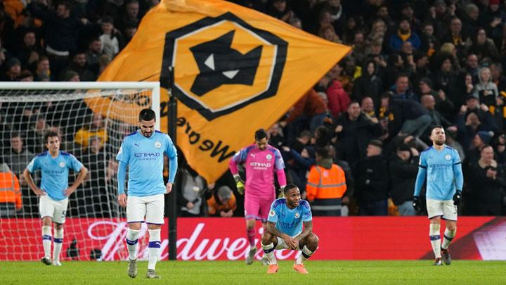 Wolves Fight Back To Beat 10 Man City As Title Fades Further
