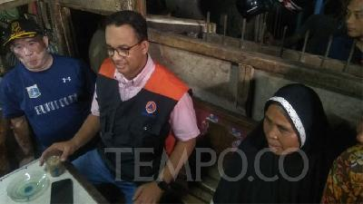 PSI Slams Governor Anies Baswedan's Flood Mitigation