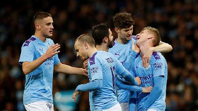 Manchester City vs Manchester United, 7 Fakta Derby Manchester