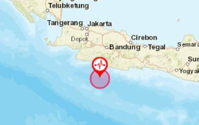 4.9M Earthquake Hits Sukabumi, Tremor Reaches Pangandaran