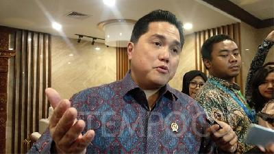 Erick Thohir Plans Replacing Garuda Commissioners