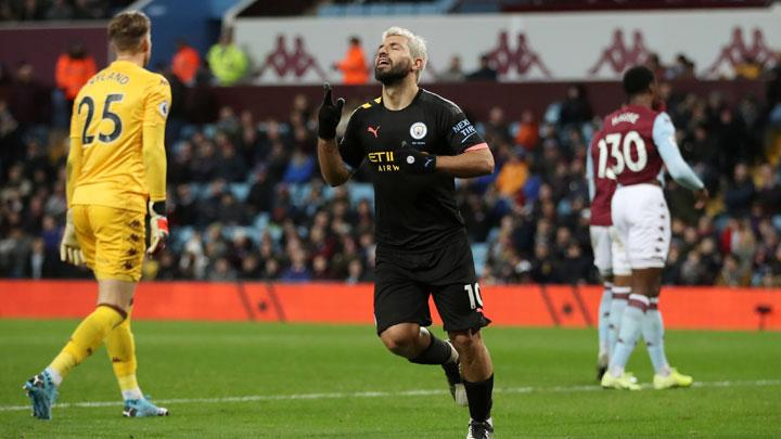 Man City Thrash Villa with Aguero's Record Breaking Hat-trick