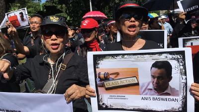 Jakarta Legislative Comments on Protest against Anies Baswedan