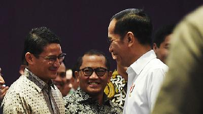Gerindra Politician Deems Jokowi's Remark on Sandiaga Uno Gimmick