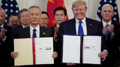 US and China Reset Trade Relationship with Phase 1 Agreement