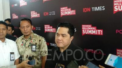 Erick Thohir Receives Threat Related to Jiwasraya, Asabri