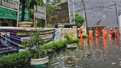 Jakarta BPBD Notices Floods in 17 Areas following Heavy Rainfall