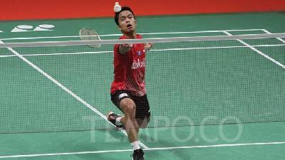 Anthony Ginting Wins Mens Singles Title at Indonesia Masters 2020