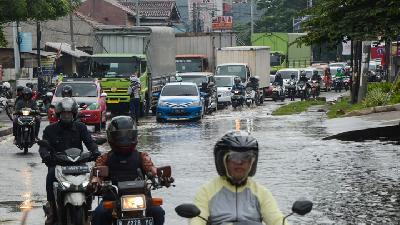 Rainstorms All Week; Jakarta, Java, Sulawesi May See Floods